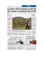 La Provence-10 novembre 2018
